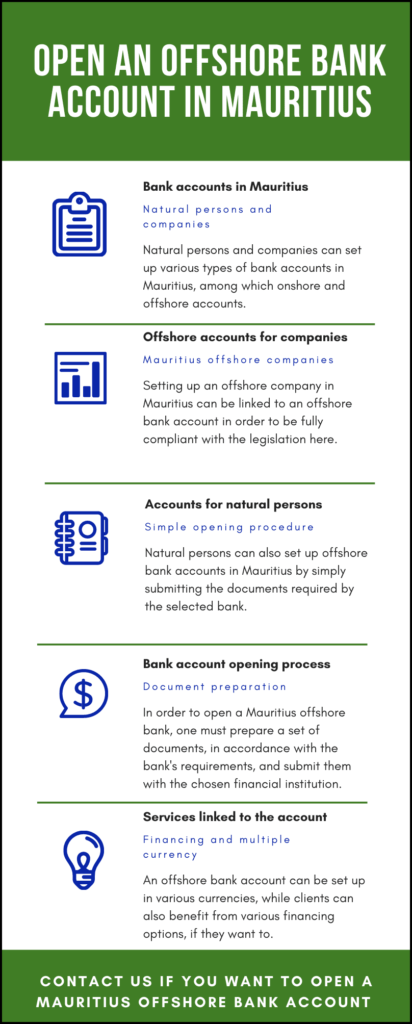 Open an Offshore Bank Account in Mauritius